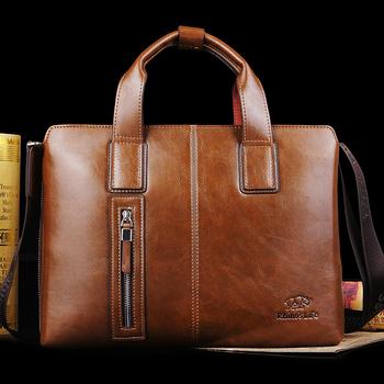Freeshipping 2013 Rhino man bag male handbag business bag briefcase one shoulder