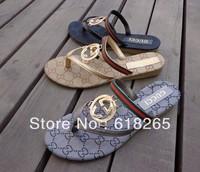 European and American fashion cool flat sandals flip-flops