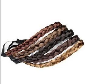 Minimum order is $15 (mixed batch)55111 beautiful sweet pepper potts braid hair rope/hair band