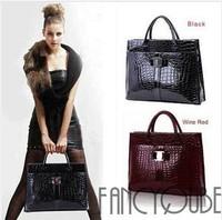 Bags 2014 female fashion Luxury OL Lady Women Crocodile Pattern Hobo Handbag Tote Bag