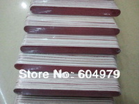 Wholesale / Free Shipping Nail Tool Wooden Thin Nail File,Emery board  16.8cm 100pcs/bag