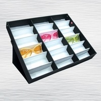 cool rb brand Glasses plaid pavans - multifunctional 18 glasses bag glasses bags eyeglasses frame decoration box