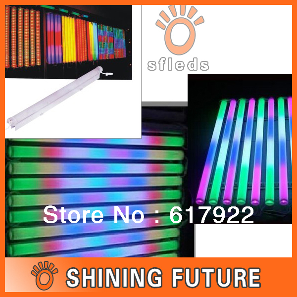 6 Pixels internal-controlled led digital tube/ RGB digital tube light 108pcs/meter, AC85-265V 10W/M(China (Mainland))