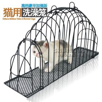 smart kat cat bath cage cat bath room pet bath room
