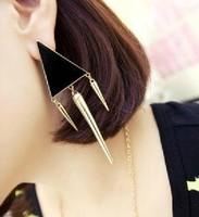 Hot-selling 2013 trigonometric rivet all-match elegant stud earring earrings accessories female fashion