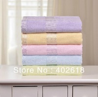 "Free shipping--Bamboo towel, 1PC/Lot, Size 55""x27""(140x70cm), 100%Bamboo fiber, SPA Wrap, Bath towel, Green/Pink/Blue/Yellow"