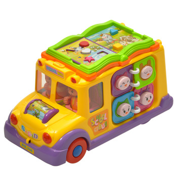 Department of music 796 bus multifunctional child toy car music car 8 10
