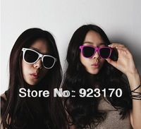 Min order is $12(mix order) free shipping wholesale cheap candy color meters women's men's sunglasses