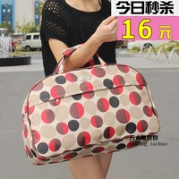 free shipping Fashion large capacity 2013 travel bag handbag one shoulder waterproof male Women luggage