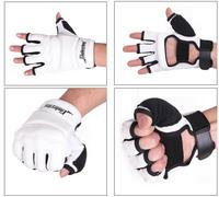 Free shipping qulity goods 1 pair Half finger Taekwondo gloves mma gloves low price