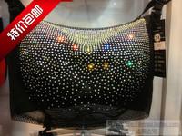 Diamond underwear push up breast enlargement rhinestones diamond tube top bra 5035