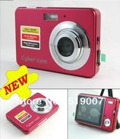 "free shipping 2012 new cheap gift still digital camera,12.0 Mega Pixels 8X Digital Zoom 2.7"" LTPS LCD DC-K09"