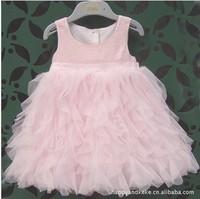 2013 summer new girls princess dress kids fashion dresses children formal dress 5pcs/lot