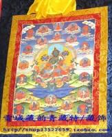 Of qingzang . buddha thangka beautiful green tara