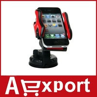 Universal Car Mount Holder for MP3 MP4 PDA Phones GPS (Red) free shipping