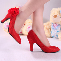 The bride wedding shoes 2012 women's shoes high-heeled shoes