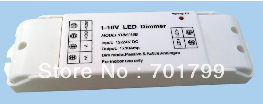 Dim118b; 1-10v-led konstanter spannung dimmer, dim Modus; passive& aktive analogen