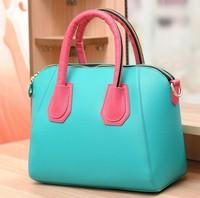 Korea Block Color Sweet Candy Crossbody Handbags,Fashion Bag,Free Shipping Handbags,Wholesale and Retail