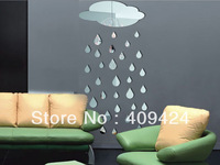 Free shipping!Fashion Home decoration crystal 3D DIY wall stickers decoration supplies crystal wall stickers fa-008