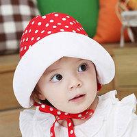2733 princess baby hat sunbonnet child bucket hats princess sun hat spring and autumn cap bonnet