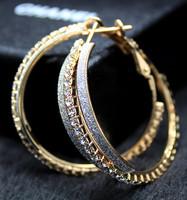 2013 New Style Sexy Large Hoop Earrings Anti-allergic Popular Wholesale Big Circle Earrings