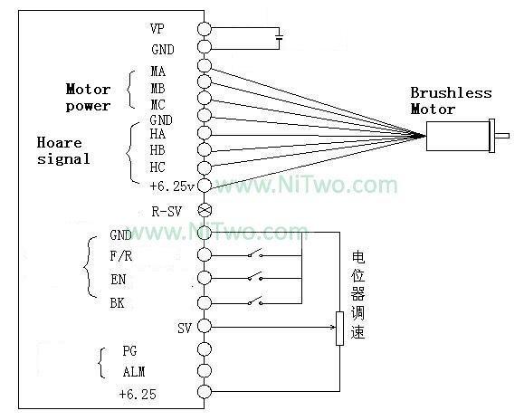 Bldc контроллер 24 В 5а с