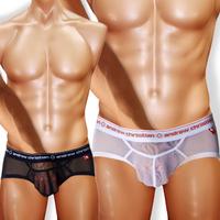 MAN STORE  Andrew C panties ac gauze transparent panties male Gauze Transparent briefs  men's underwear