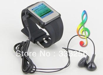 """4 ГБ 1.5 """" дюймовый mp4-часы AD668 поддержка M3 / 4, Электронная книга, Fm, Высокое - звучания записи AD668"""