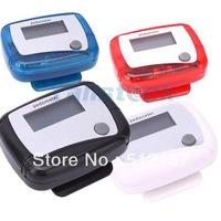 10pcs  New fashion SPORTS LCD Run walking Step counter Pedometer