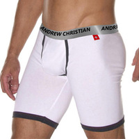MAN STORE  Andrew C ac male trunk  cotton underwear u bags underpants capris 5 pants  men's underwear men's underwear