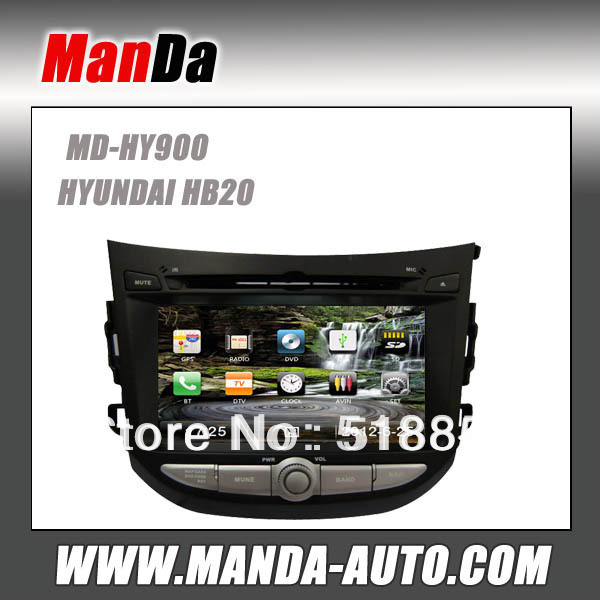 Factory price! 3G/DVR Car DVD autoradio gps/mp3/iphone for HYUNDAI HB20(China (Mainland))