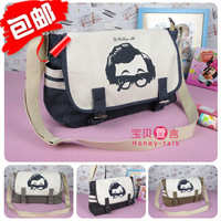 -Best Crown Seller - Girls vintage preppy style all-match canvas bag casual bag student school bag messenger bag
