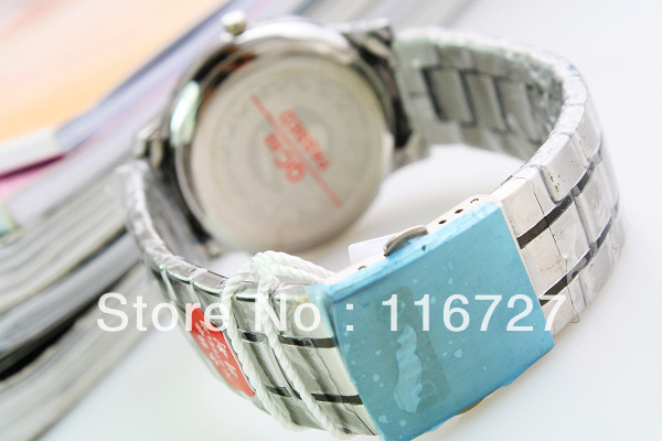 Supply Personalized Watches Fashion Men's waterproof watches steel watches new watch company 144,386(China (Mainland))