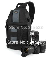 FreeShipping New Lowepro SlingShot 202 AW Photo Camera Sling Shoulder Bag DSLR Digital SLR Backpack+Rain Cover for nikon D700