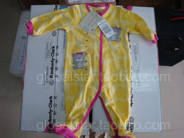 Детская мода pekkle новорожденных боди комбинезон