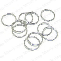 Free Shipping Wholesale 10mm Imitation Rhodium  Iron Jump Rings Diy Fashion Jewelry Findings Accessories 500 pieces(J-M3091)