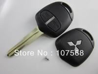 Mitsubishi 2 button remote key case shell