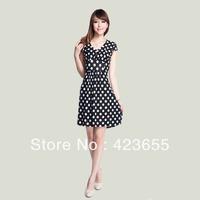 2013 one-piece dress fashion slim brief plus size dress