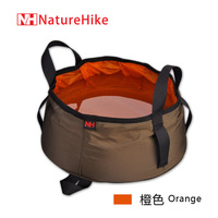 2013 hot free shipping Naturehike ultra-light portable folding basin outdoor basin 8.5l Fishing packages