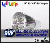Factory Promotion 2 pcs Mini sales CREE GU10 E27 GU5.3  9W 12W Bulb lamp 85V-265V  Led Light bulb Lamp Led Spotlight