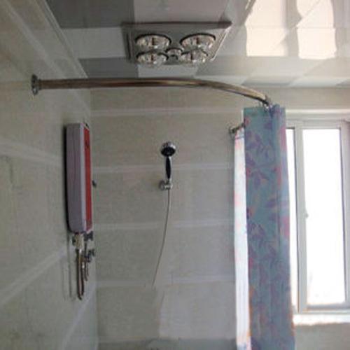 Arc Shower Curtain Rod - Rooms