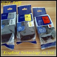 Cheapest 24mm laminated tz tape TZ251 p touch compatible tze251 tape