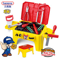 Free shipping Stool multifunctional tool box child toy disassembly