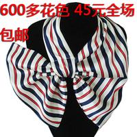 Hot sell Magicaf silk scarf magic silk scarf small facecloth stripe silk scarf