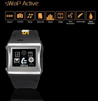 "Original Swap Active EC700 Watch Mobile Phone 1.5"" Touch Screen Quadband with original Bluetooth+2gb micro sdcard"