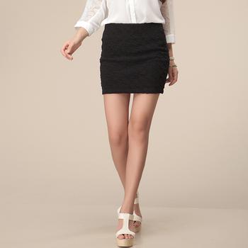 2013 spring and autumn the trend of women short skirt summer slim hip skirt