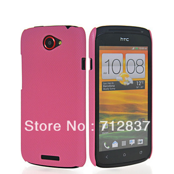 Wholesale or Retail NEW FASHION PLASTIC NET HARD DREAM MESH HOLES SKIN CASE PROTECTOR GUARD COVER  FOR HTC One S
