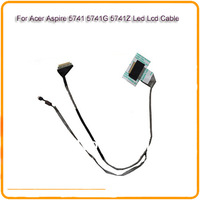 For Acer Aspire 5741 5741G 5741Z 5741ZG Led Lcd Cable laotop LCD Video Cable  laptop lcd screen cable video cable