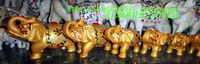 Set elephant set size 7 fashion exquisite small white elephant99 like decoration