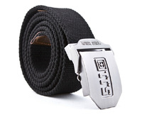 tactical tactical belt army webbing outdoor belt strap police tactical swat combat duty belt Casual belt buckle brushed steel